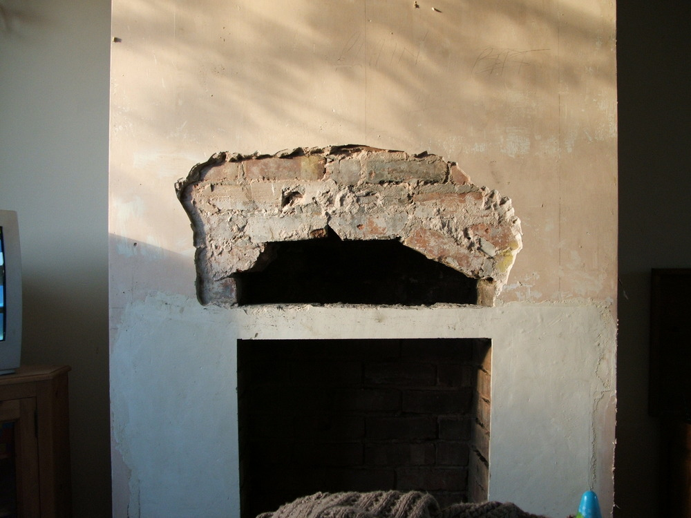 Install Fireplace Lintel And Plaster Chimney Breast Chimneys Fireplaces Job In Preston