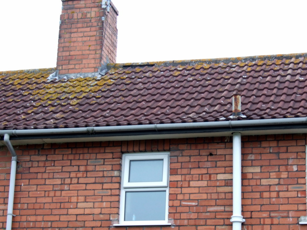 Fix Ridge Tile Pointing Roofing Pitched Job In Bristol