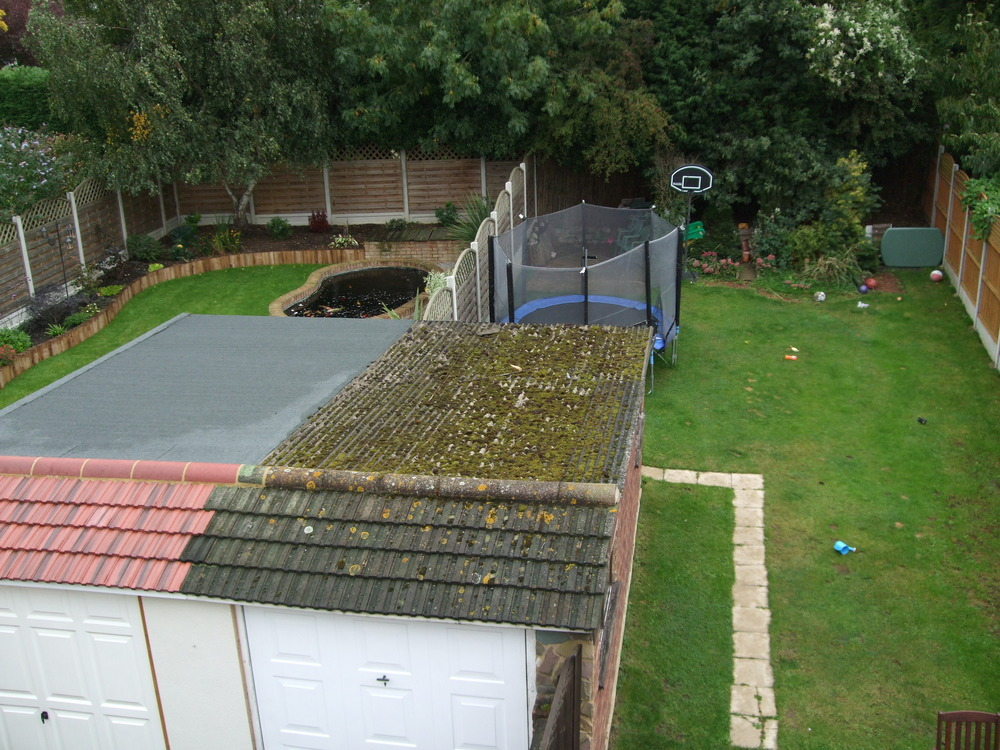 Garage Flat Roof Replacement Roofing Job In Billericay