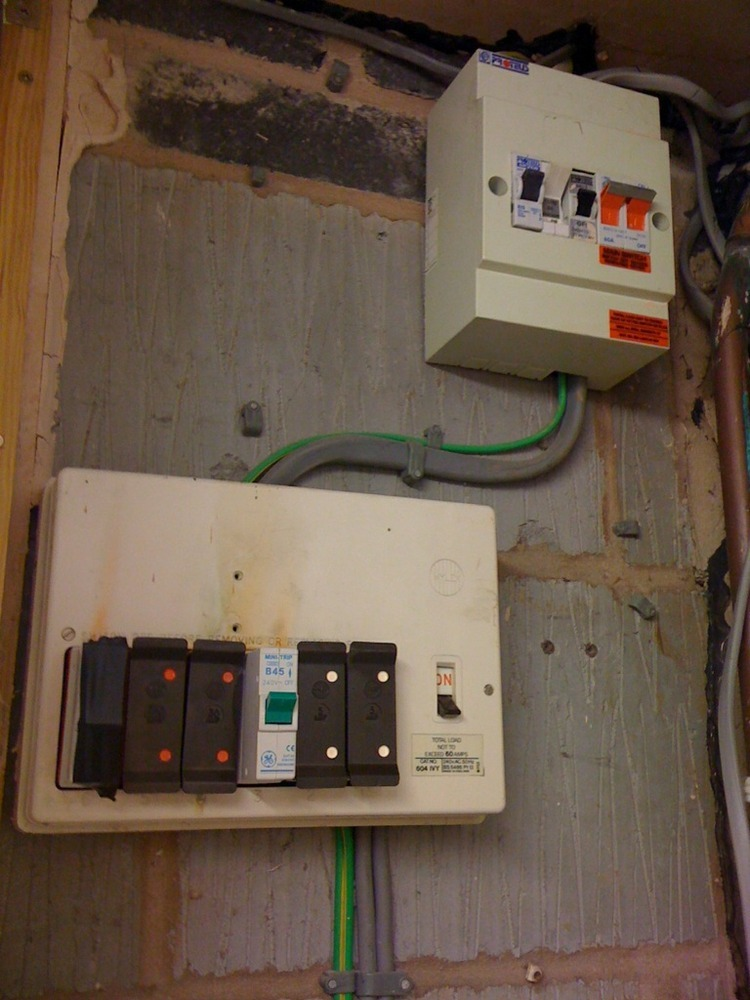 Replace Old Style Consumer Unit - Electrical Job In Tewkesbury  Gloucestershire