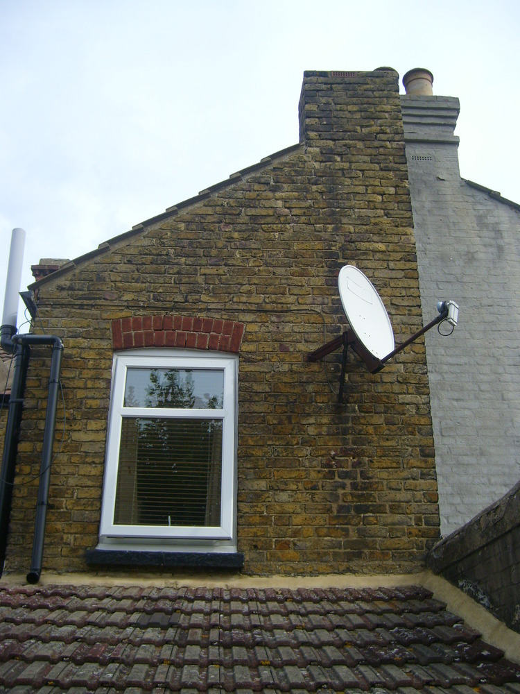 Repointing Rear Gable Victorian Terrace House Repointing