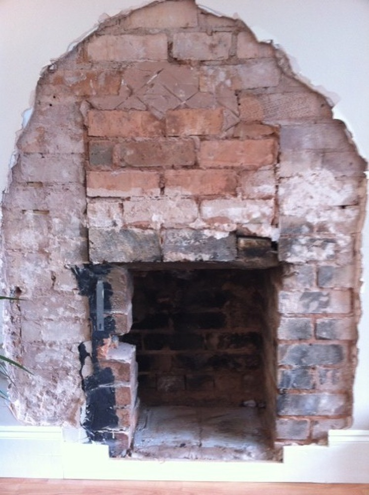 Widen Builders Opening In Chimney Breast Chimneys