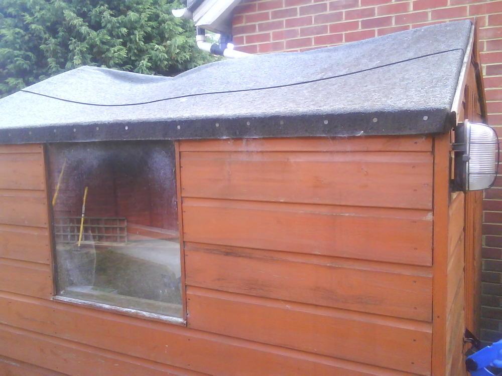 Replacing Shed Roof Garages Amp Sheds Job In Sittingbourne