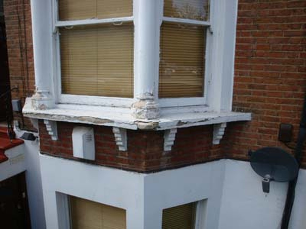 Render Repair And Stone Cill Repair Restoration