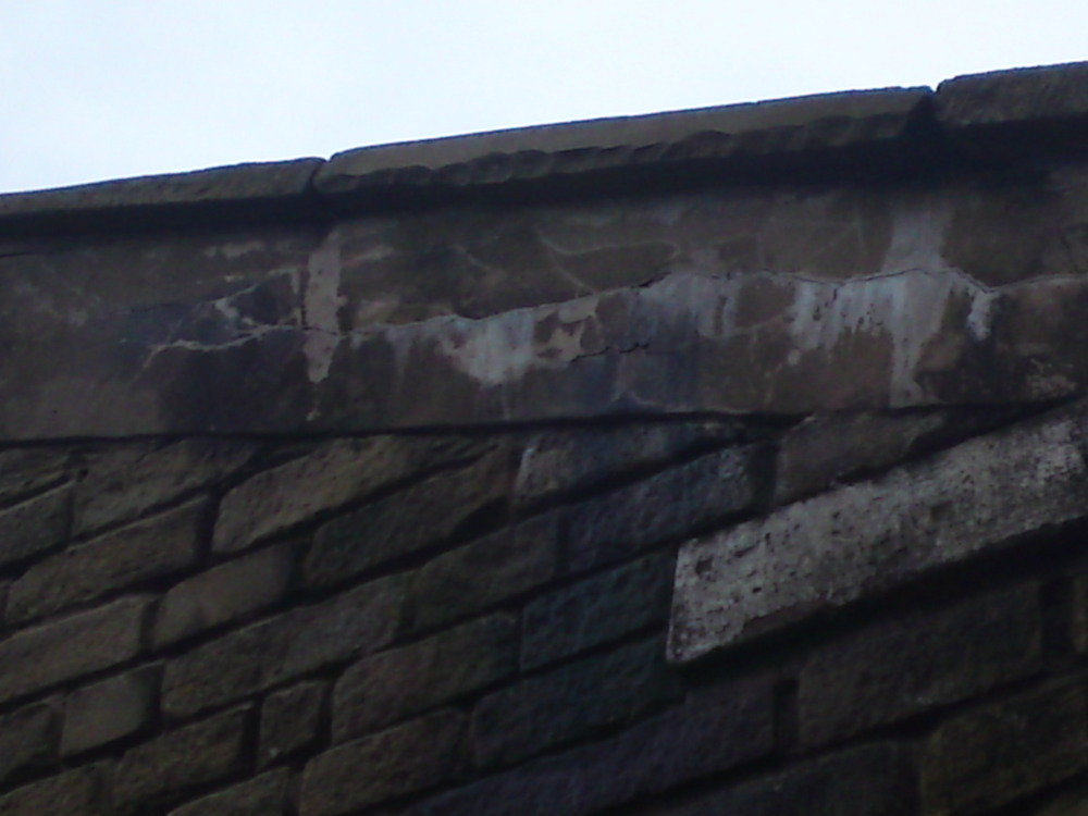 Repair Coping Stones Mortar And Pointing Roofing