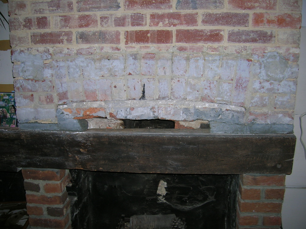 Brick Fireplace Restoration Bricklaying Job In Horsham