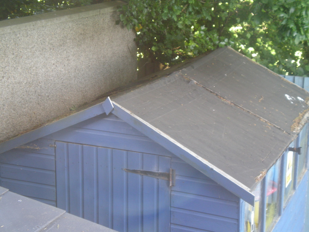 Re Felt Shed Roof Garages Amp Sheds Job In Plymouth Devon