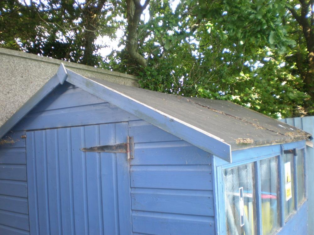 Re Felt Shed Roof Garages Sheds Job In Plymouth Devon
