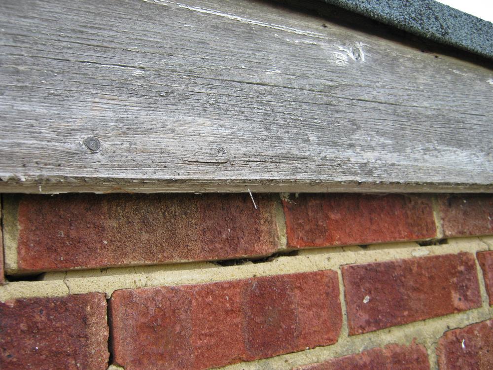 Replacement Of Fascia Board Amp Repair Of Brick Work