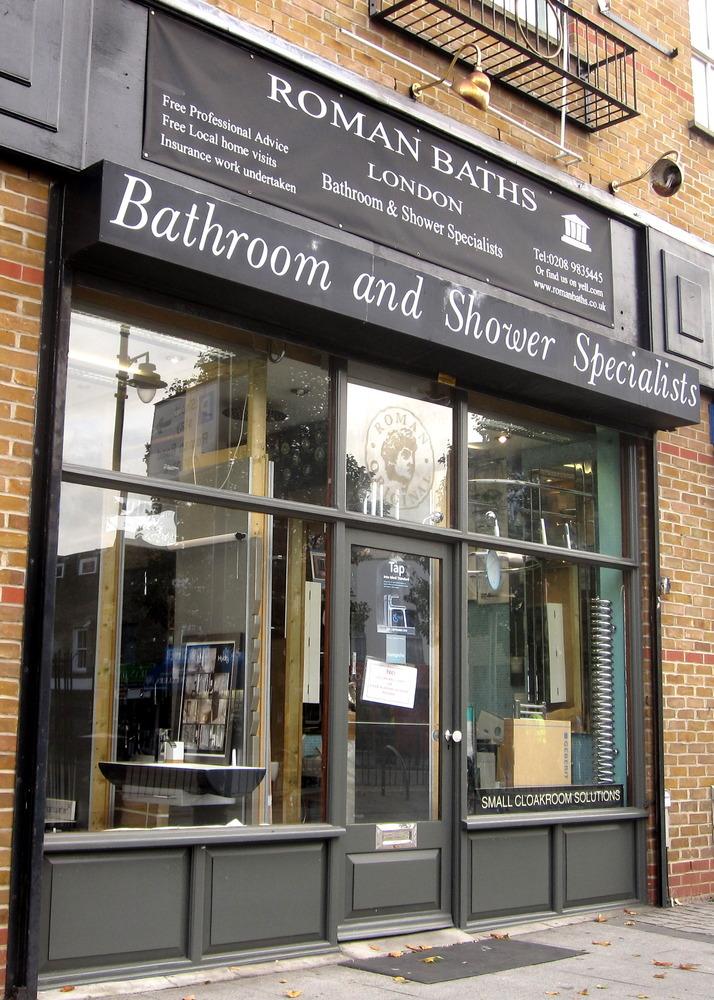 Roman baths bathroom fitter in london for Bathroom builders east london