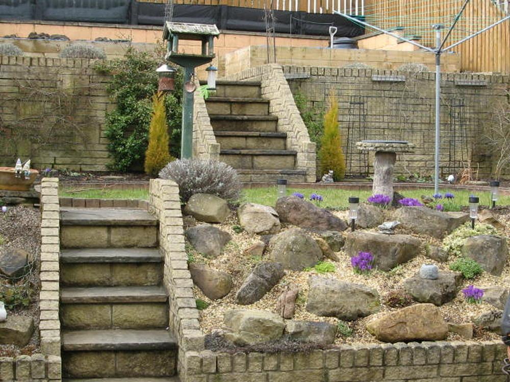 Landscaping A Sloping Driveway : Rjc landscapes landscape gardener in hamilton