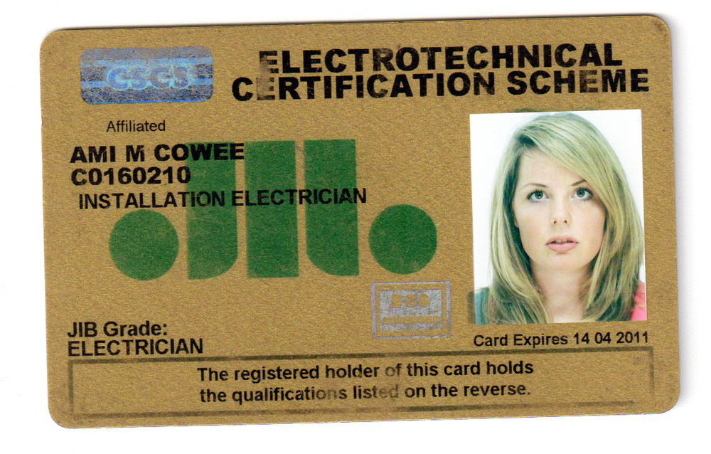 Cscs Gold Card >> Amilec Electrical: 100% Feedback, Electrician in Camberley