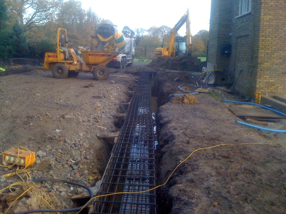 Sa Reinforcement Groundworker In Sunbury On Thames