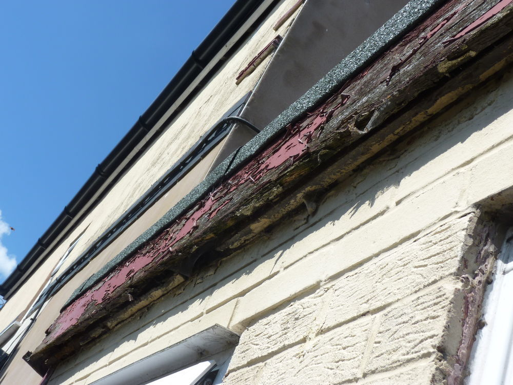 Replace Fascia Boards On Flat Roof Extension Roofing