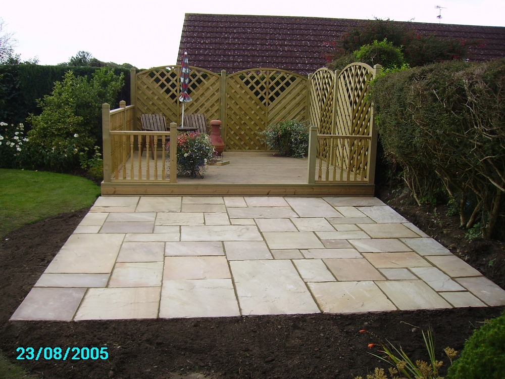 New garden design and build landscape gardener in gloucester for New landscape design