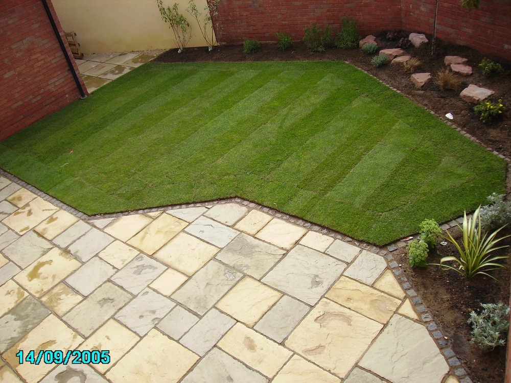 New Garden Design and Build Landscape Gardener in Gloucester
