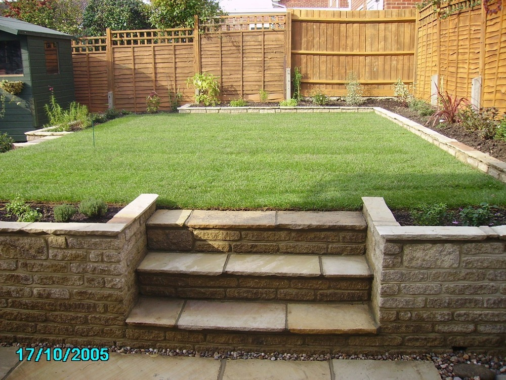 New garden design and build landscape gardener in gloucester for Create garden design