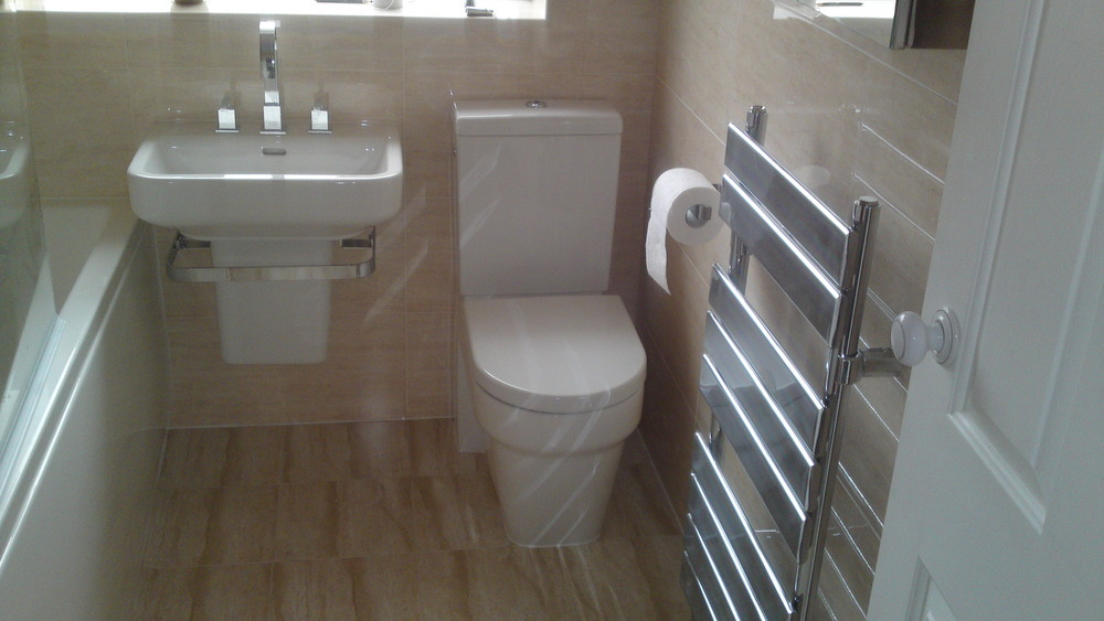 Olympus interiors 94 feedback bathroom fitter in stafford for Small fitted bathrooms