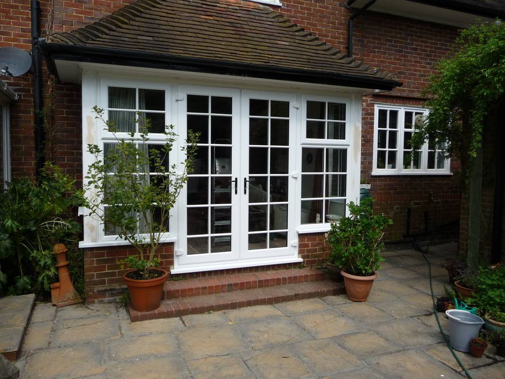Bennbrook windows 97 feedback window fitter for Patio doors with side windows