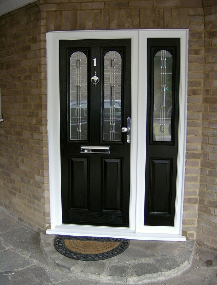 Window fitter conservatory installer groundworker in for Front door and side panel
