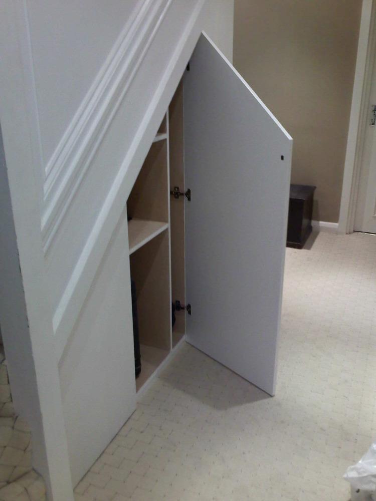 Under Stair Doors : G shaw woodwork feedback carpenter joiner in