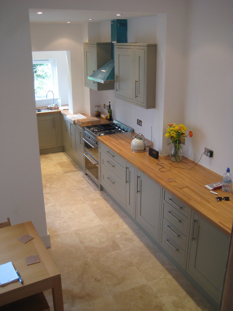 Grey Oak Laminate Kitchen Worktop