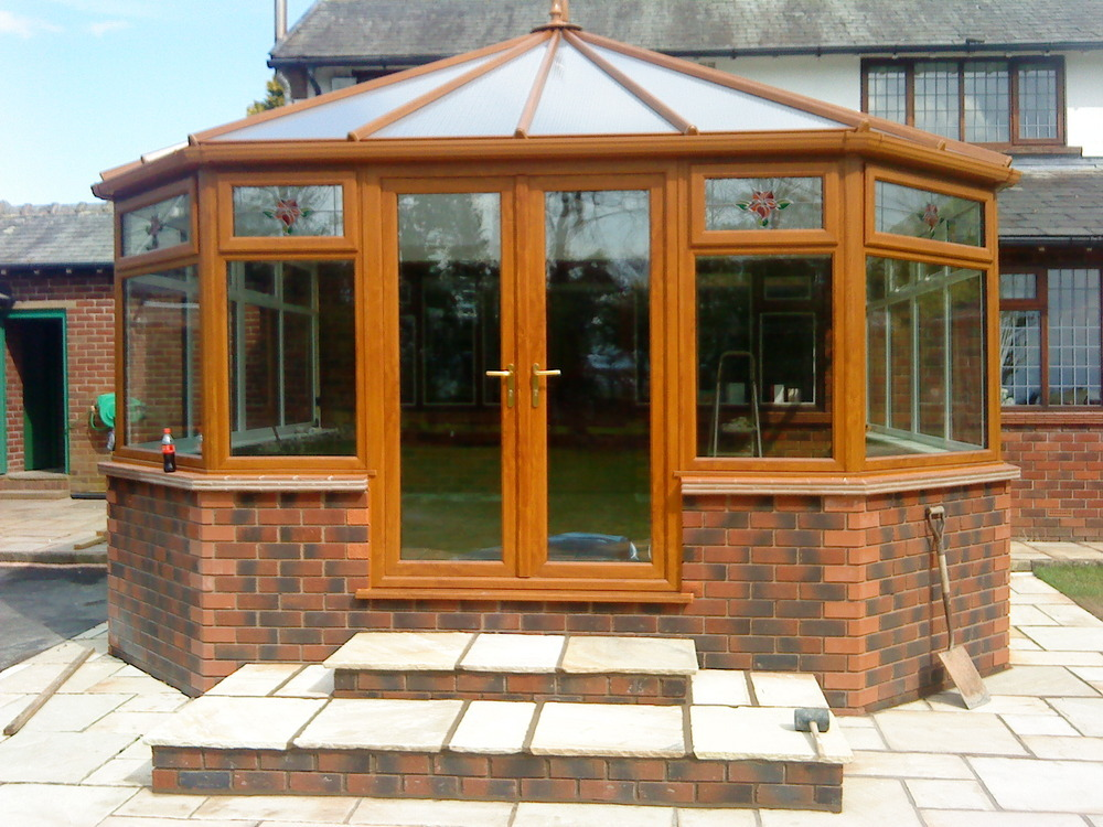 Ajh builders fylde ltd conservatory installer in for Thornton builders