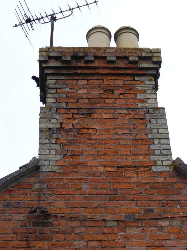 Shore Up A Chimney Stack Bricklaying Job In Bedford
