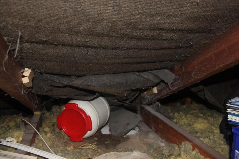Repair Roof Felt In Attic 12 300 About Roof