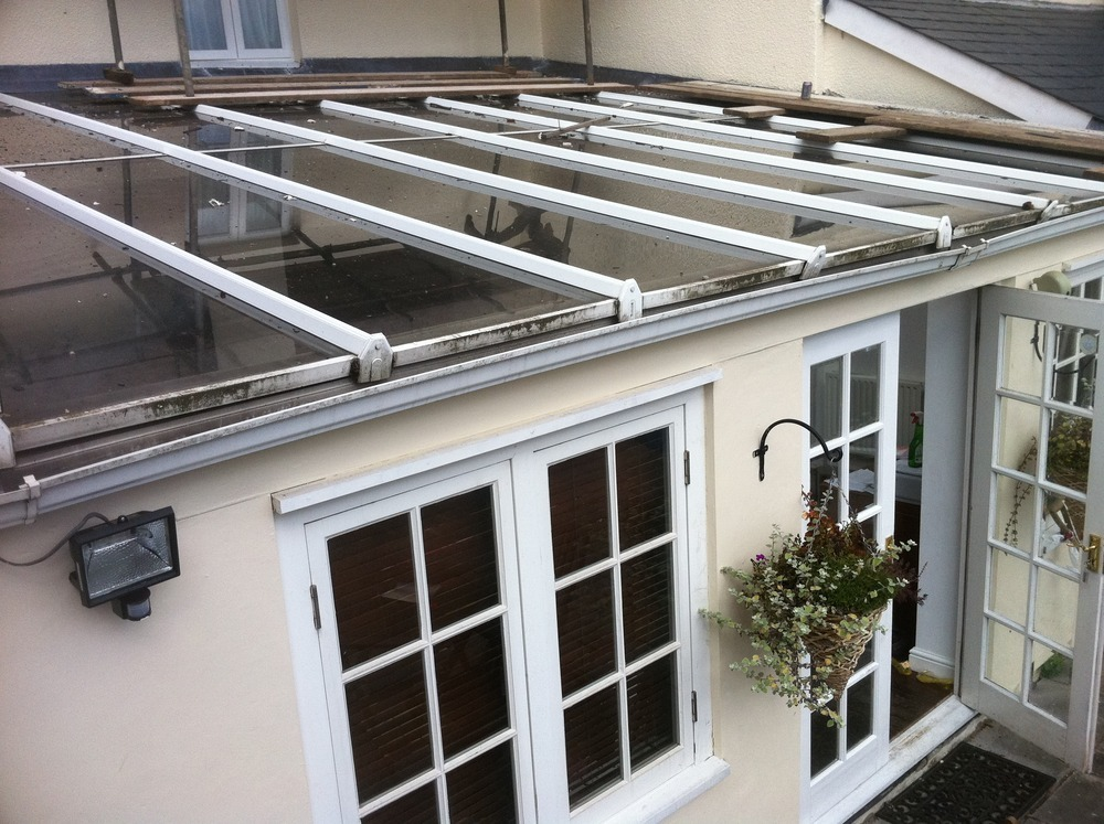 fix leaks in upvc glass conservatory roof conservatories. Black Bedroom Furniture Sets. Home Design Ideas
