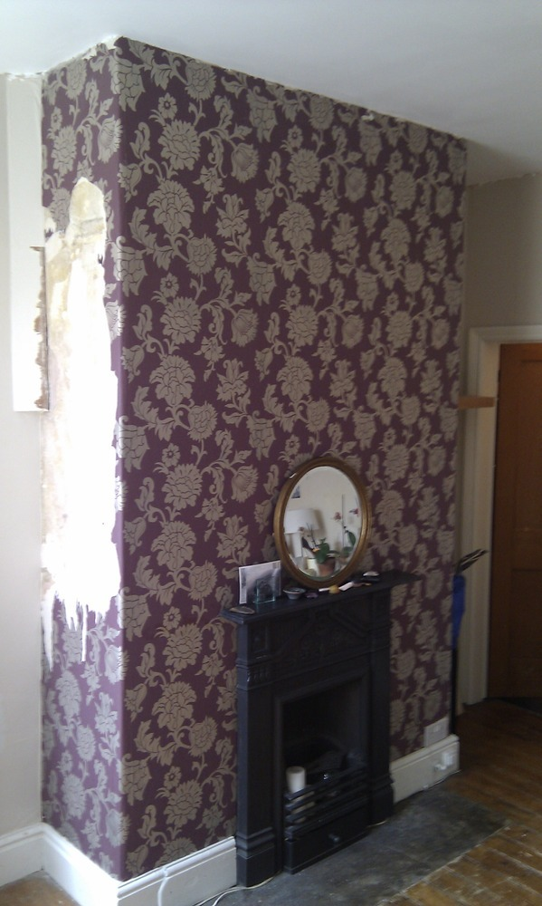 Wallpaper Chimney Painting Amp Decorating Job In