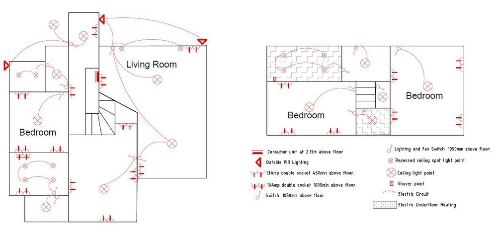 Wiring A Bedroom From Scratch - DIY Enthusiasts Wiring Diagrams •