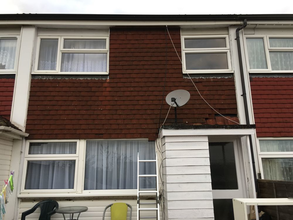 Exterior Cladding For Houses >> Exterior Tile Cladding & PVC Cladding Repair - Handyman job in Letchworth Garden City ...