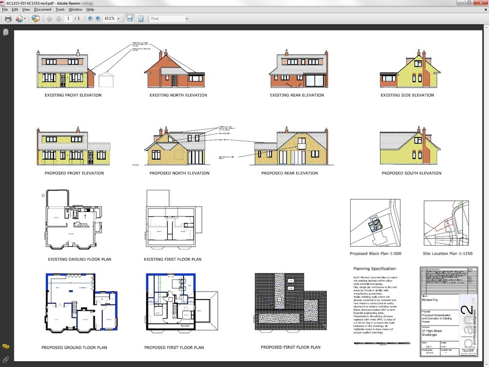 2 X Permitted Development Extensions To 1950 Bungalow