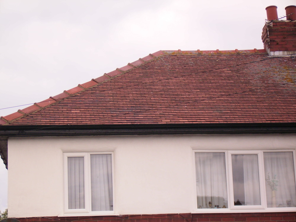 Replace 50 Roof Tiles Replace Flashing Roofing Job In