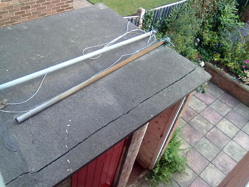 Repair To Flat Concrete Roof On Outbuilding Roofing