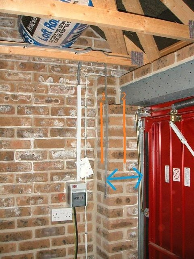 Removal Of Garage Lintels And Replaced With Single Rsj