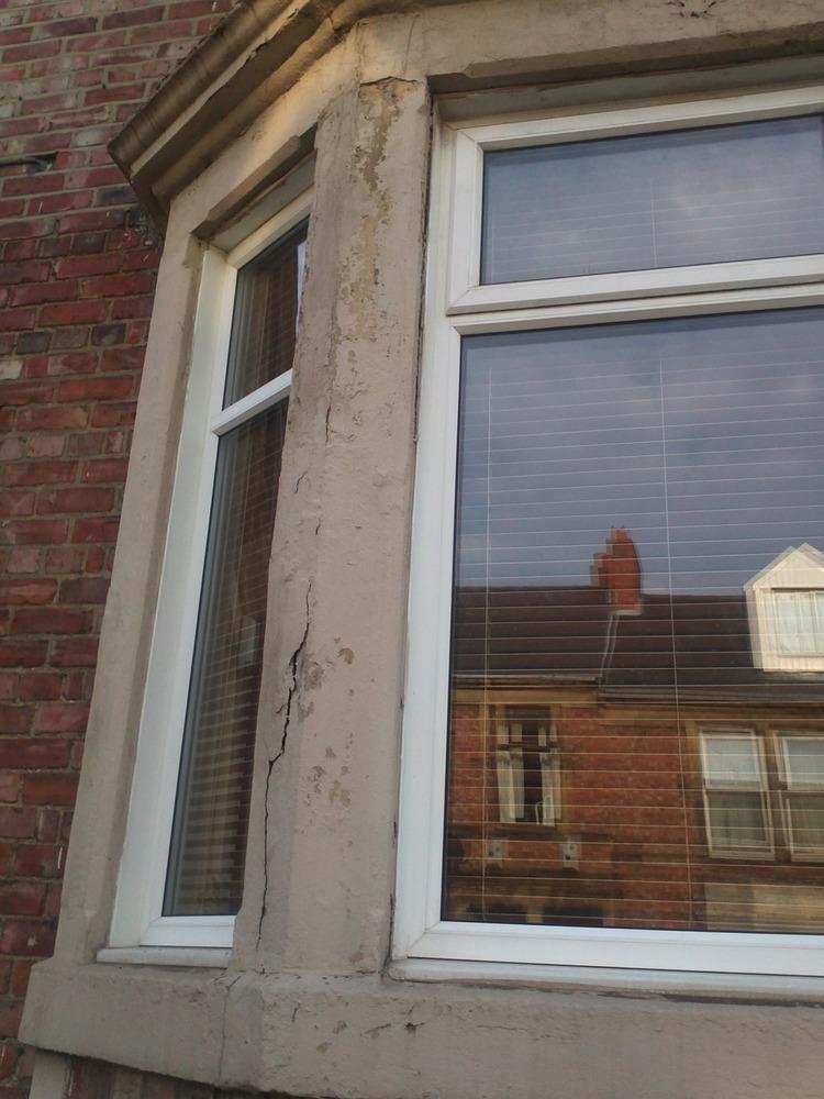 Ground Floor Window : Repair to ground floor bay window surrounds restoration