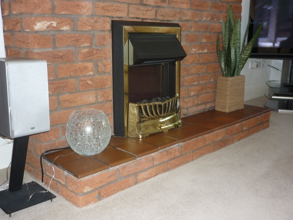 To Cover An Existing Internal Brick Chimney Breast