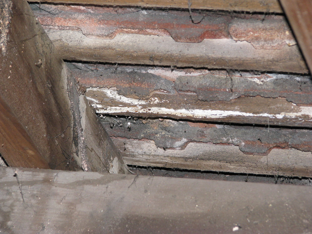 Damp Roof Timber Chimney Flashing And Pointing Roofing