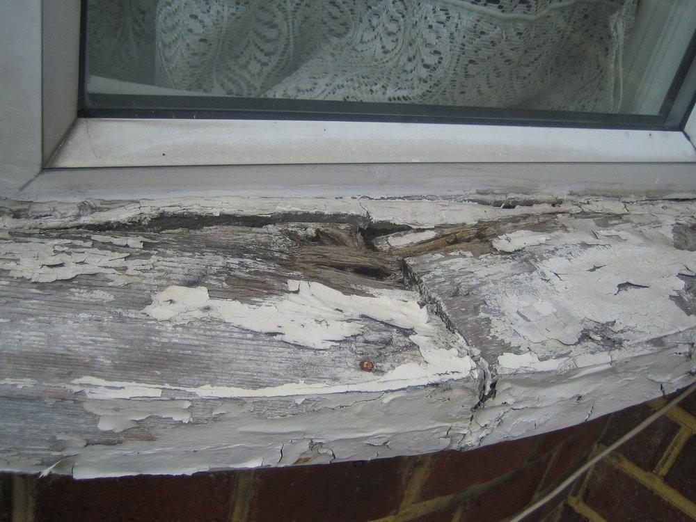 replace an exterior rotten wooden window sill windows job in harrow