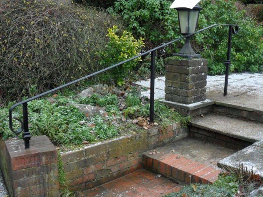 Fit metal handrail to outdoor steps - Landscape Gardening job in Caterham, Surrey - MyBuilder
