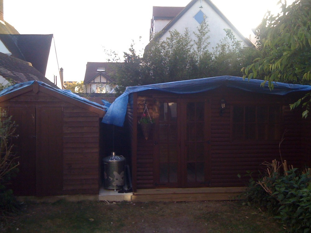 Landscape Garden Leigh On Sea : And summerhouse roofs roofing job in leigh on sea essex mybuilder