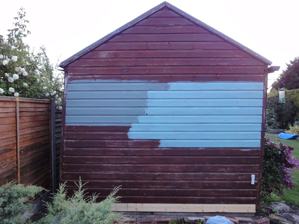 straighten a leaning shed garages sheds job in ringwood