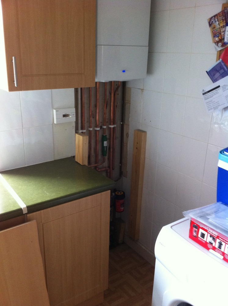 Box In And Tidy Up Boiler Pipe Work Carpentry Amp Joinery