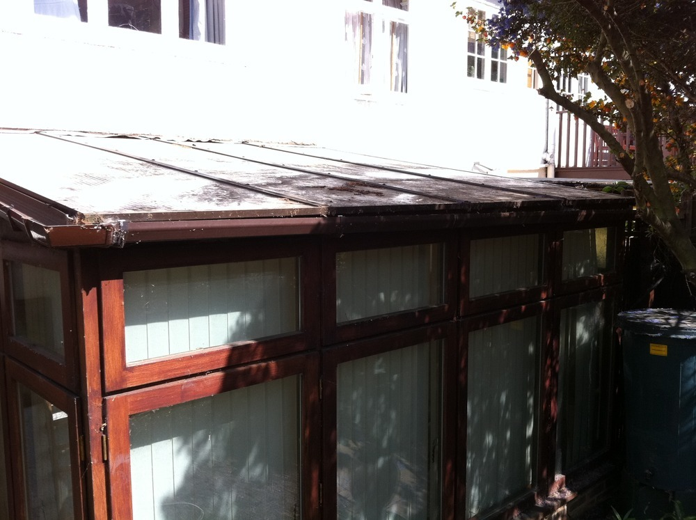 Replace Corrugated Plastic Conservatory Roof W Glass