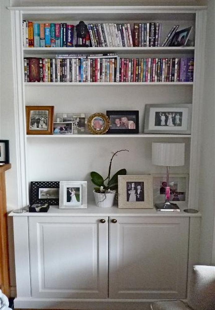 Fitted Alcove Shelving And Bookcase Carpentry Amp Joinery