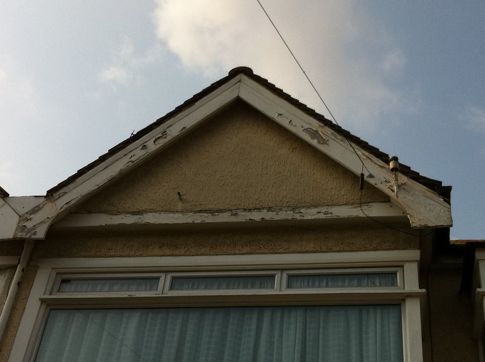 Repair Or Replacement Of Gable End Barge Boards Roofing