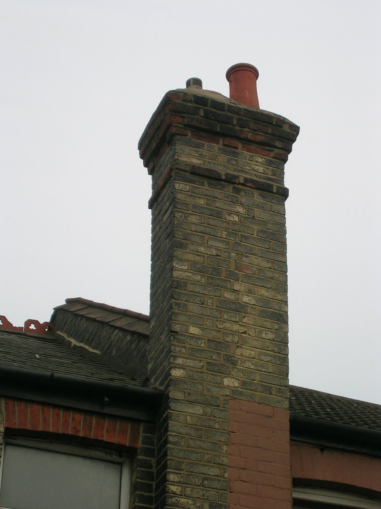 roofer  labour 2 remove half chimney stack 15  20 courses