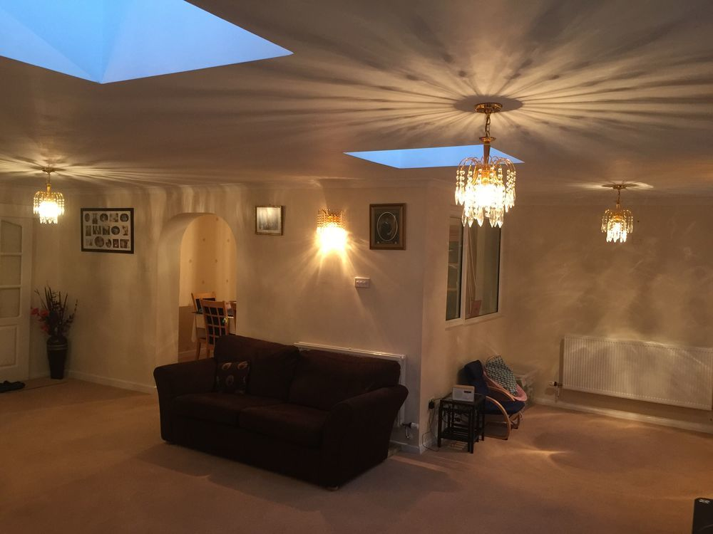 Painting 4 bedrooms, lounge, dining hall and kitchen
